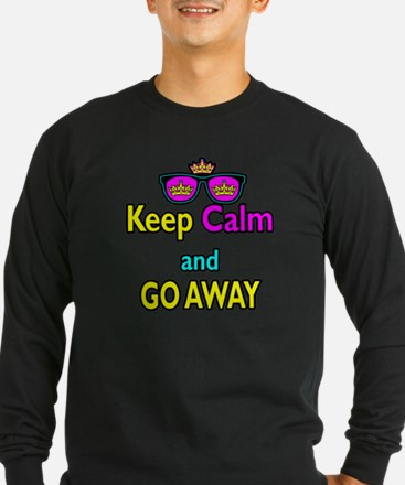 Crown Sunglasses Keep Calm And Go Away T