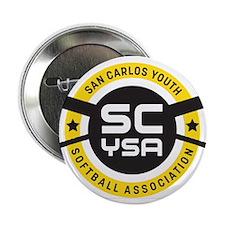 """San Carlos Youth Softball Association Logo 2.25"""" B"""
