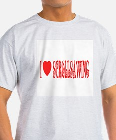 I love scrollsawing Ash Grey T-Shirt