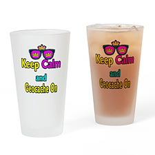 Crown Sunglasses Keep Calm And Geocache On Drinkin
