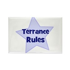 Terrance Rules Rectangle Magnet