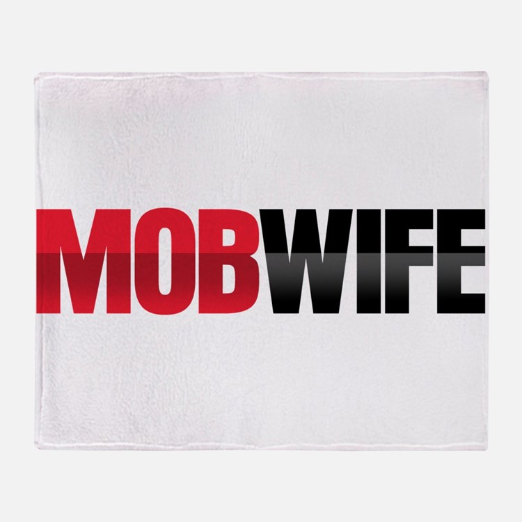 Mob Wife Throw Blanket