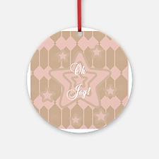 Oh Joy Star Keepsake Ornament (Round)
