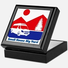 Small House Big Yard RV T-Shirt Keepsake Box