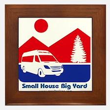 Small House Big Yard RV T-Shirt Framed Tile