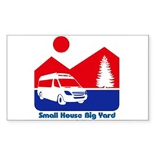 Small House Big Yard RV T-Shirt Decal