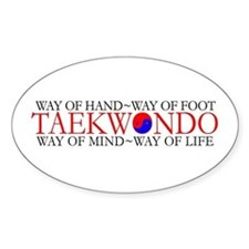 Tae Kwon Do Philosophy Decal