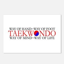 Tae Kwon Do Philosophy Postcards (Package of 8)