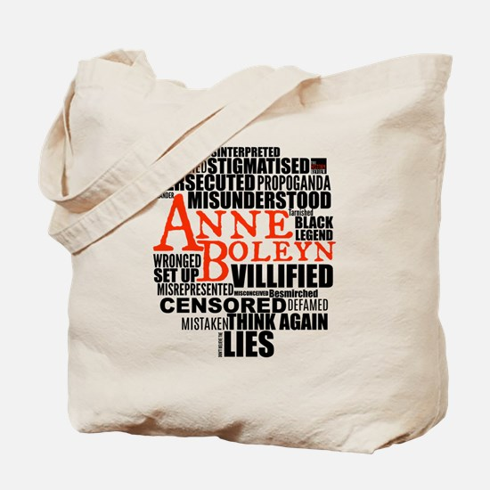 Anne Boleyn: Misunderstood Tote Bag