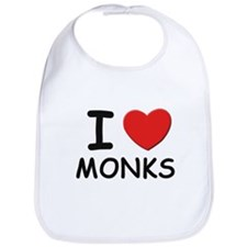 I love monks Bib