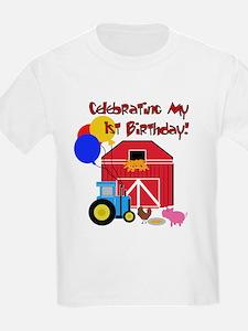 Farm First Birthday T-Shirt