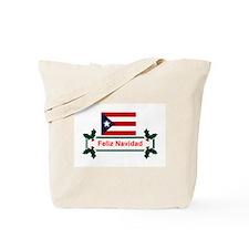 PuertoRico Feliz Navidad Tote Bag