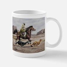 Bedouin Riding with Saluki Hounds Mug