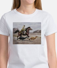 Bedouin Riding with Saluki Hounds T-Shirt