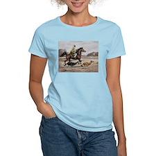 Bedouin Riding with Saluki Hounds T-Shirt