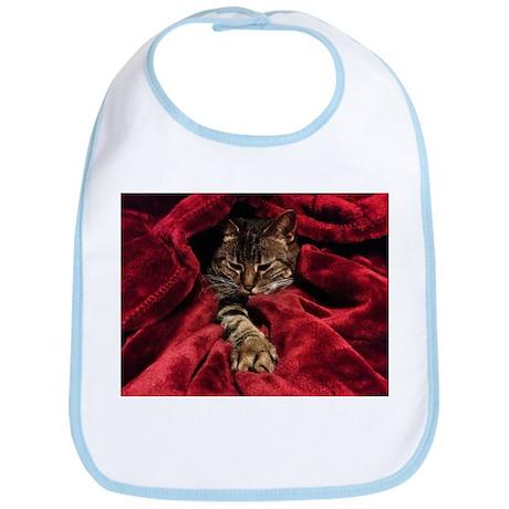 Velvet Cat Bib