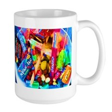 Candy Girl Cat Forsley Designs Ceramic Mugs