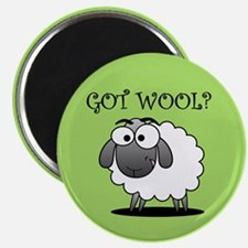 GOT WOOL? Magnet