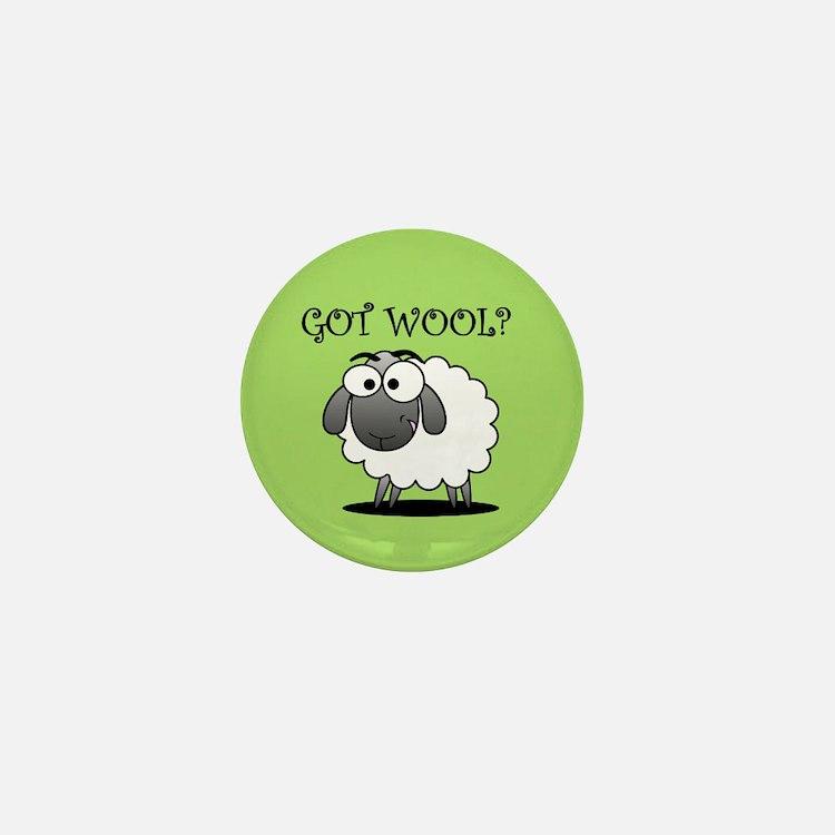GOT WOOL? Mini Button