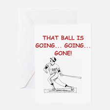 BASEBALL1 Greeting Card