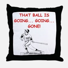 BASEBALL1 Throw Pillow