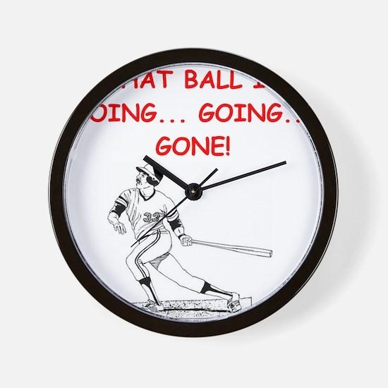 BASEBALL1 Wall Clock