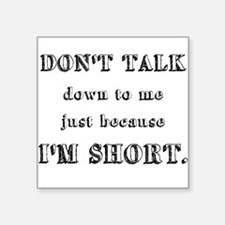 short people bumper stickers car stickers decals more. Black Bedroom Furniture Sets. Home Design Ideas