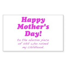 Happy Mothers Day... Decal