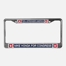 Elect Mike Honda License Plate Frame