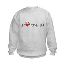 I love the DJ with headphones and heart design Swe
