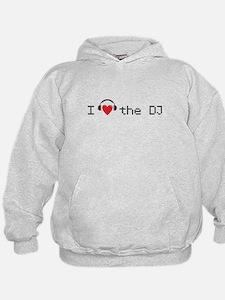 I love the DJ with headphones and heart design Hoo
