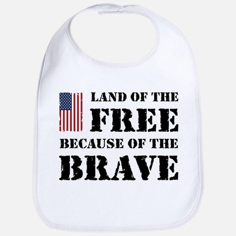 Land of the Free Bib