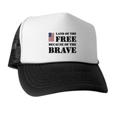 Land of the Free Trucker Hat