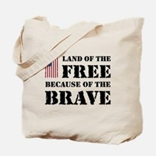Land of the Free Tote Bag