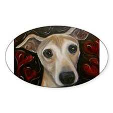Molly the Heart Iggy Rectangle Decal