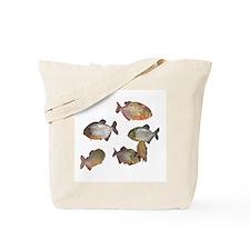 piranhas Tote Bag