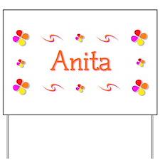 Anita 1 Yard Sign