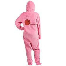 Happy Halloween Footed Pajamas