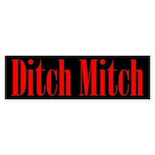 Ditch Mitch Bumper Car Sticker Bumper Car Sticker