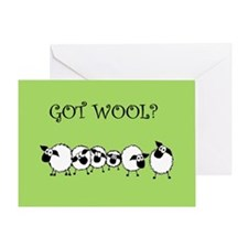 GOT WOOL? Greeting Card