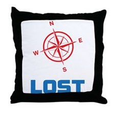 Compass North East South and West with lost text T