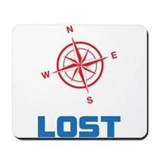 Compass North East South and West with lost text M