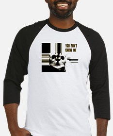 you dont know me cat crazy Baseball Jersey