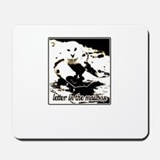 letter in the mailbox stater owl Mousepad
