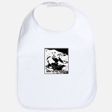 letter in the mailbox stater owl Bib