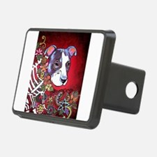 DiaLos Muertos dog Hitch Cover