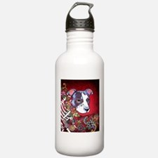 DiaLos Muertos dog Water Bottle