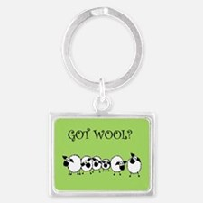 GOT WOOL? Keychains