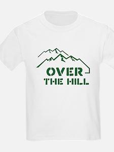 Over the hill mountain range design T-Shirt