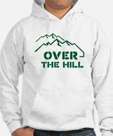 Over the hill mountain range design Hoodie